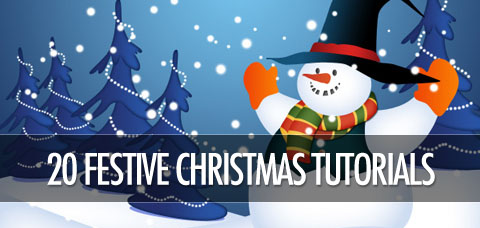 20 Fantastically Festive Christmas Photoshop Tutorials | PSDFan