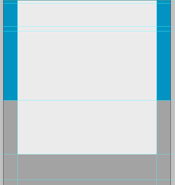 bluep4 Design a Sleek Textured Blue Portfolio
