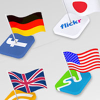 PSDFAN Exclusive: 8 National Flag Icon Sets
