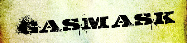 GASMASK Free Font