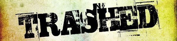 TRASHED Free Font