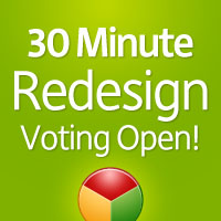 30 Minute Redesign: Week 2 Vote