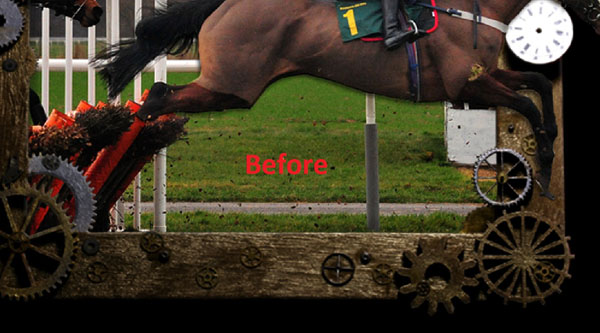 horse16b How to Create an Outstanding Out of Frame Horse Scene