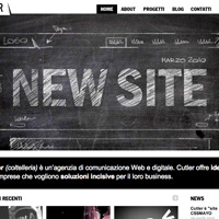 Black/White Web Design Trending in 2010?