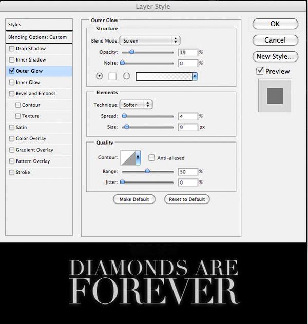 diamondad14 Design a Sleek Diamond Poster Advert