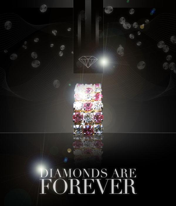diamondad16 Design a Sleek Diamond Poster Advert