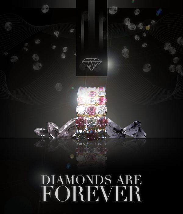 diamondad20 Design a Sleek Diamond Poster Advert