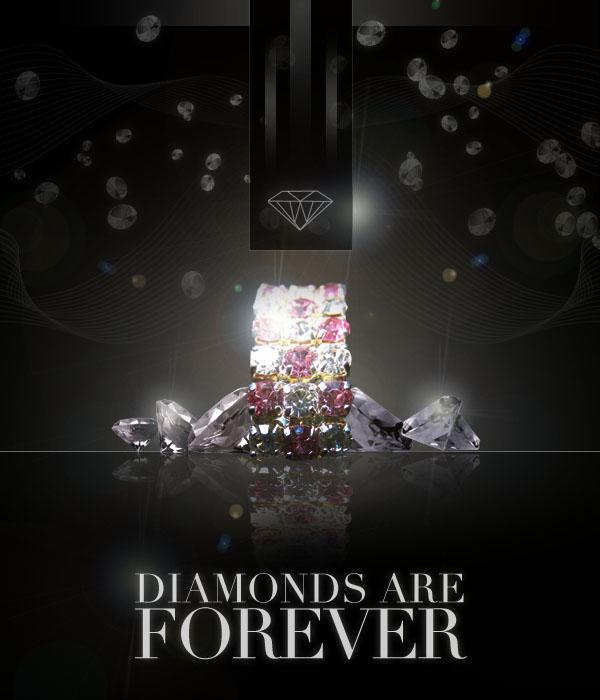 diamondad22 Design a Sleek Diamond Poster Advert