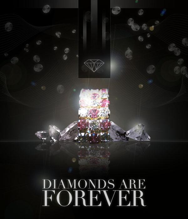 diamondadfinal Design a Sleek Diamond Poster Advert