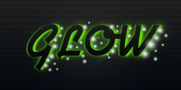 glowtext11 Create a Futuristic Glowing Text Effect