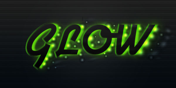Create a Futuristic Glowing Text Effect | PSDFan