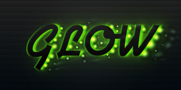 glowtext15 Create a Futuristic Glowing Text Effect