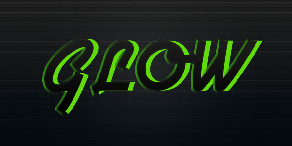 glowtext6 Create a Futuristic Glowing Text Effect