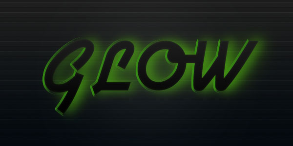 glowtext9 Create a Futuristic Glowing Text Effect