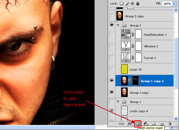 crackedhead9a How To Create an Ultra Realistic Cracked Head Effect