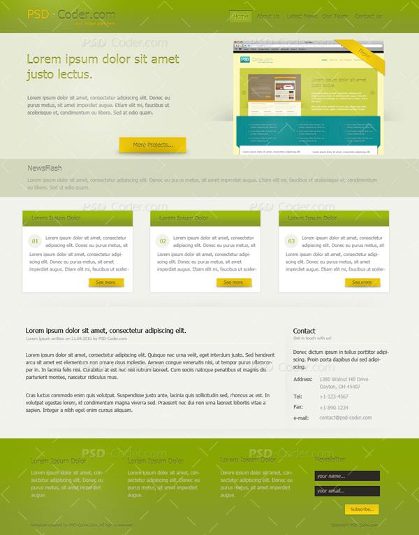 layouttuts1 30 Super Fresh Web Design Tutorials