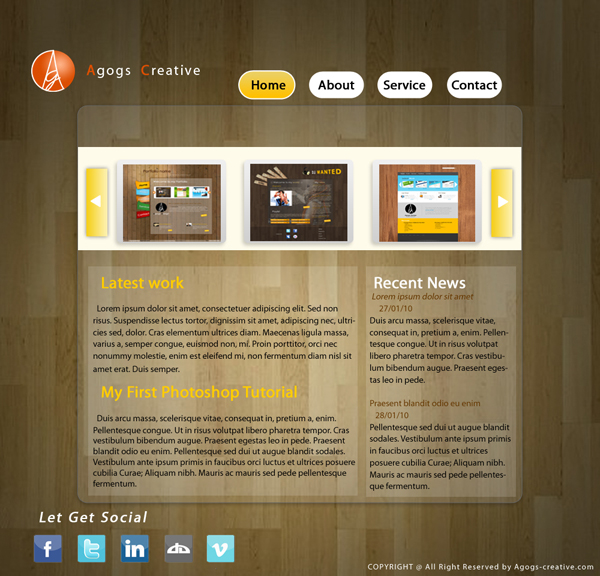 layouttuts14 30 Super Fresh Web Design Tutorials