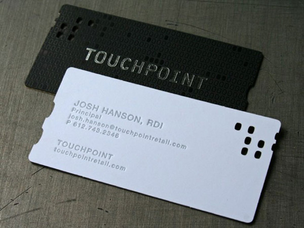 40 stunningly professional business cards psdfan touchpoint reheart Gallery