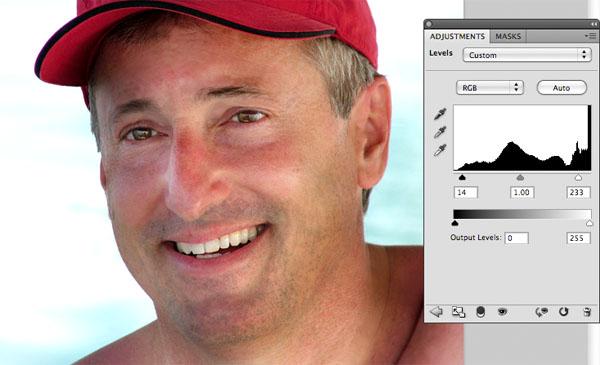 manretouch7 Take 10 Years Off a Male Portrait Via Photo Retouching
