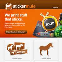 StickerMule $100 Giveaway Winner