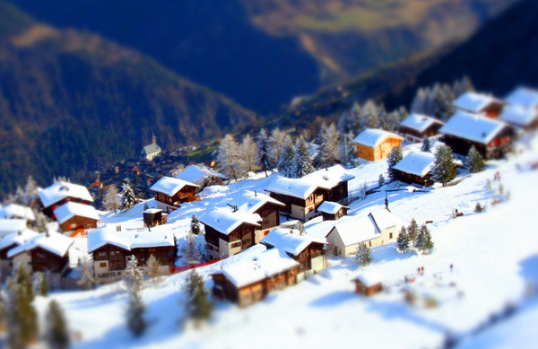 tilt17 30  Intriguing Examples of Tilt Shift Photography