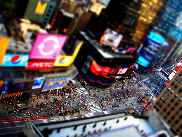 tilt20 30  Intriguing Examples of Tilt Shift Photography