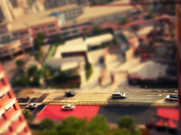 tilt21 30  Intriguing Examples of Tilt Shift Photography