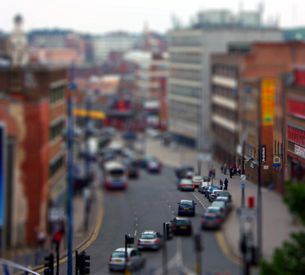 tilt29 30  Intriguing Examples of Tilt Shift Photography