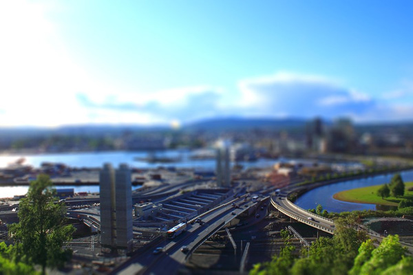 tilt3 30 Intriguing  Examples of Tilt Shift Photography