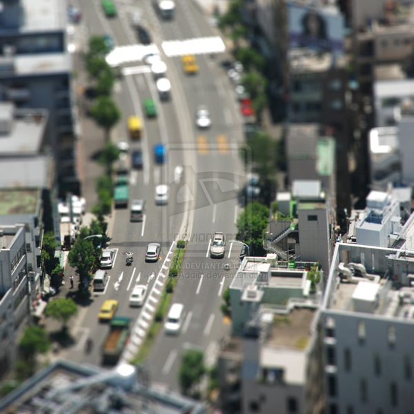 tilt5 30 Intriguing  Examples of Tilt Shift Photography