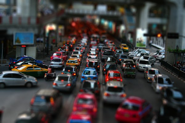 tilt8 30 Intriguing  Examples of Tilt Shift Photography
