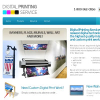 30 Minute Redesign: Digital Printing Service