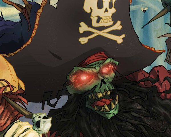 lr10 Digital Painting Lesson: Monkey Island 2: LeChuck's Revenge Special Edition