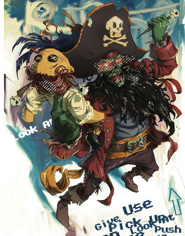 lr11 Digital Painting Lesson: Monkey Island 2: LeChuck's Revenge Special Edition