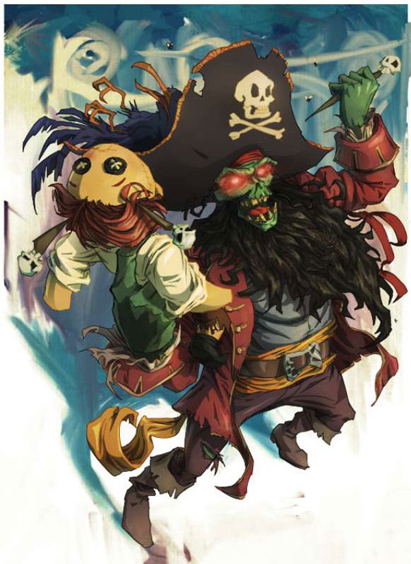 lr12 Digital Painting Lesson: Monkey Island 2: LeChuck's Revenge Special Edition