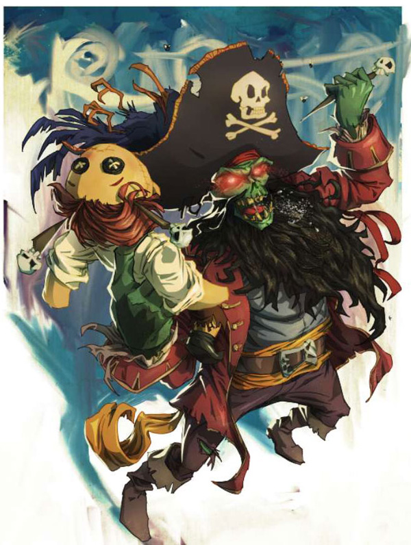 lr13 Digital Painting Lesson: Monkey Island 2: LeChuck's Revenge Special Edition