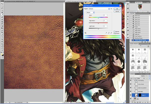 lr14 Digital Painting Lesson: Monkey Island 2: LeChuck's Revenge Special Edition