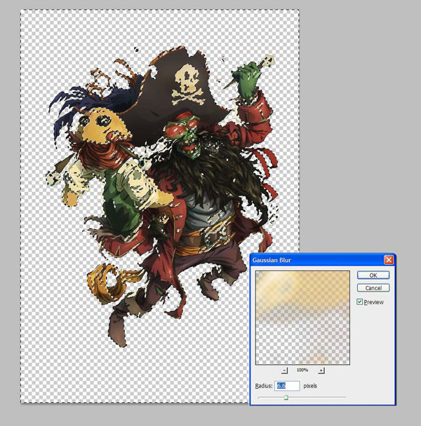lr15 Digital Painting Lesson: Monkey Island 2: LeChuck's Revenge Special Edition