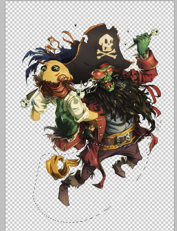 lr16 Digital Painting Lesson: Monkey Island 2: LeChuck's Revenge Special Edition