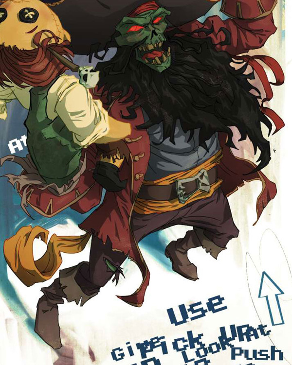 lr7 Digital Painting Lesson: Monkey Island 2: LeChuck's Revenge Special Edition