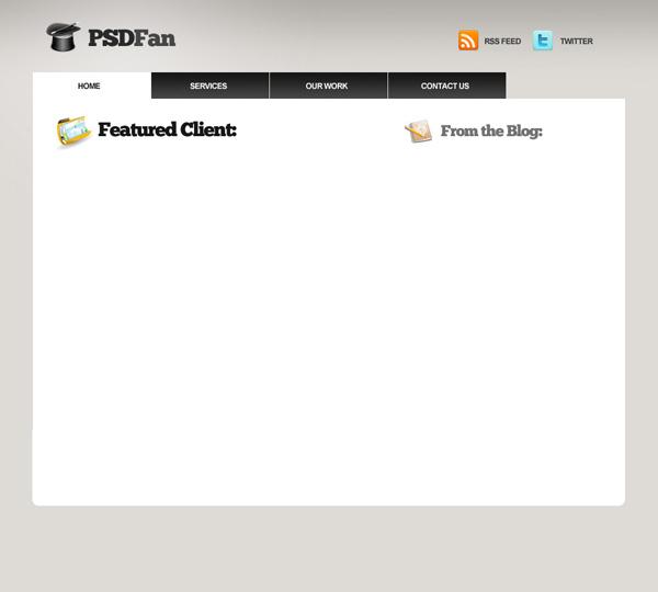 proport10 Design a Professional Portfolio Web Layout
