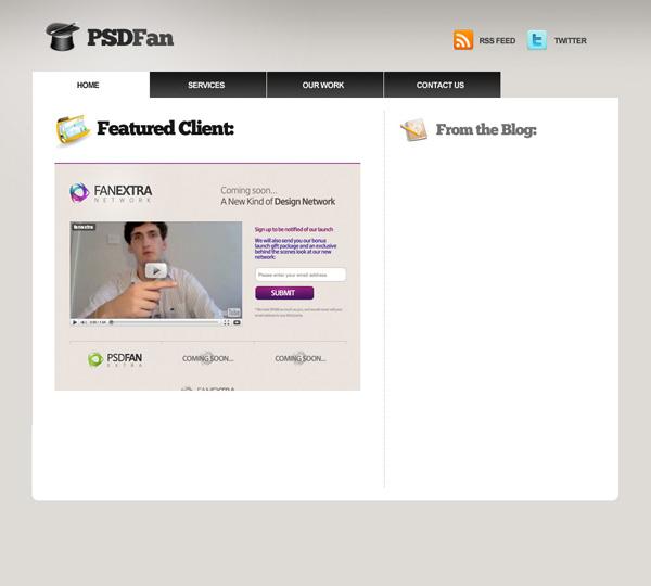 proport11 Design a Professional Portfolio Web Layout