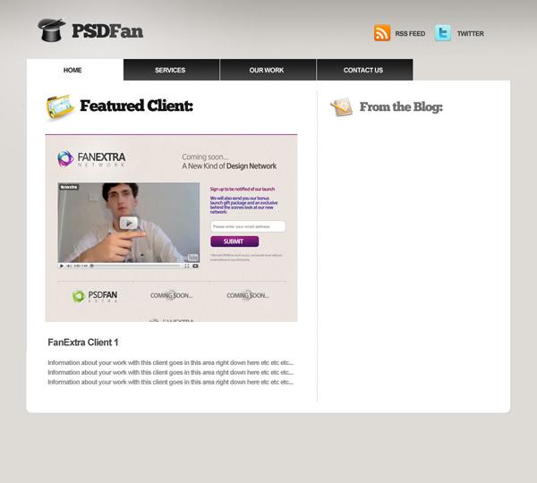 proport12 Design a Professional Portfolio Web Layout