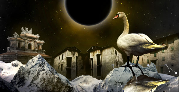 spacescene18b Photo Manipulate a Surreal Space Age Landscape
