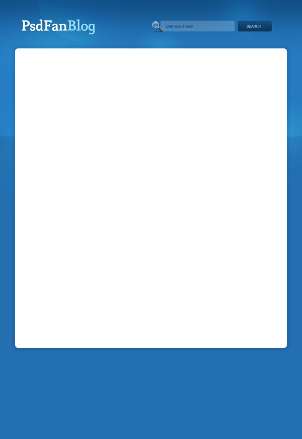 blueblog9b How to Design a Modern Blog Layout