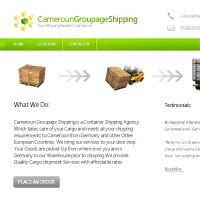 30 Minute Redesign: Cameroun Groupage Shipping