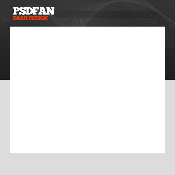 darkdesign8b Design a Dark, Professional Website Layout