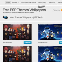 30 Minute Redesign: Free PSP Themes Wallpapers