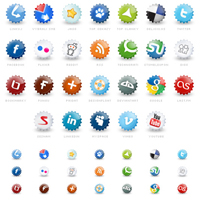 18 Most Professional Social Bookmarking Icon Sets
