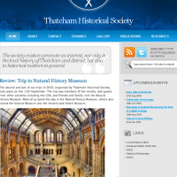 30 Minute Redesign: Thatcham Historical Society